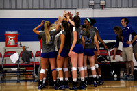 UMASS Lowell Riverhawk Volleybal vs Holy Cross 9/12/15