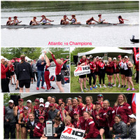 Atlantic 10 Rowing Championship UMASS  5/6/17 Cooper River NJ
